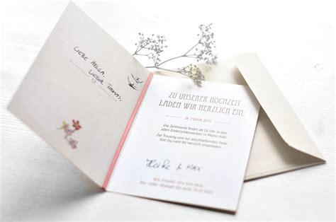 Hochzeit Einladung Design by Einladungen Hochzeit Eigenes Design Alle Guten Ideen