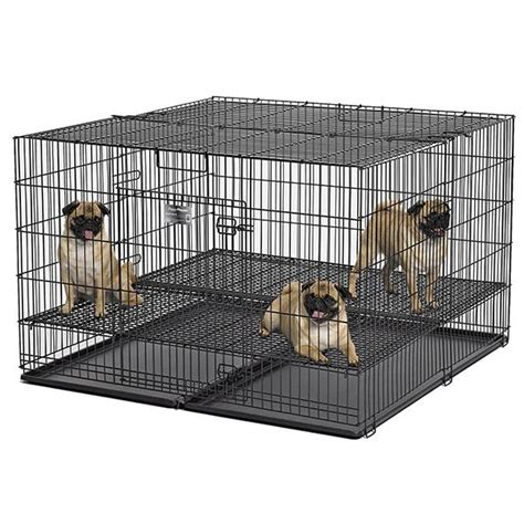 playpen with floor midwest puppy playpen with 1 2 inch mesh floor grid 28 quot l large model