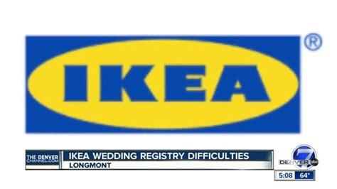ikea wedding registry newlyweds ikea refuses to help with flawed gift registry