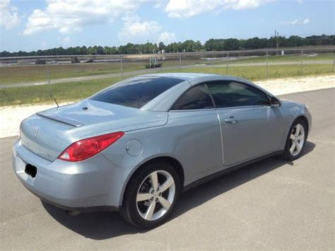 Pontiac G6 Remote by Sell Used 2007 Pontiac G6 Gt Convertible 58k 3 9l