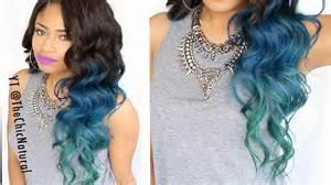 How to mermaid hair color diy youtube