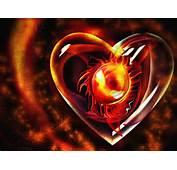 3D Fire Heart Love HD Wallpaper  &amp Valentine Wallpapers