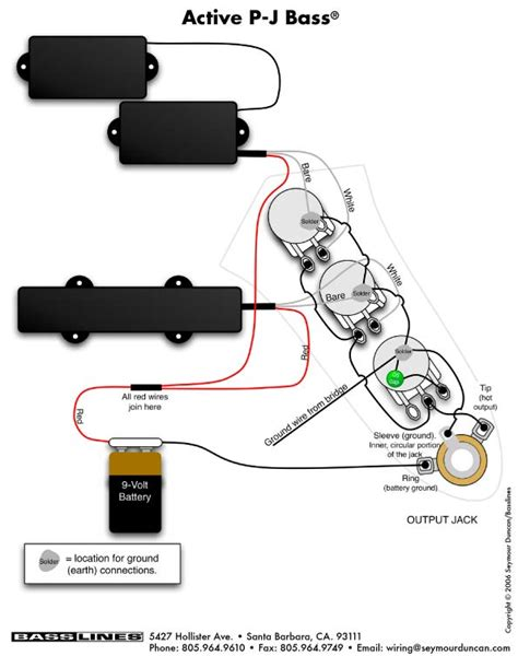 squier p bass wiring diagram ewiring