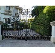 Garden Gates Aluminum Fence Design Automatic Gate