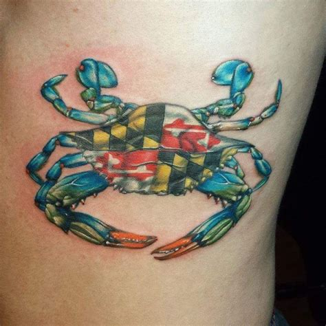 maryland crab tattoo 25 best ideas about maryland on