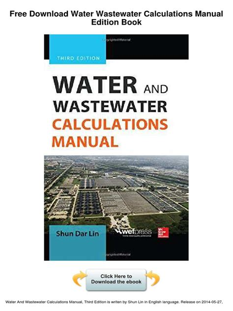 steam plant calculations manual second edition revised and expanded 87 mechanical engineering books water wastewater calculations manual edition libre