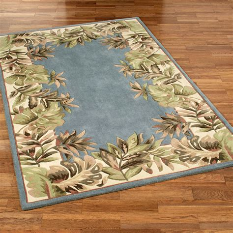 Paradise Border Tropical Area Rugs Tropical Rugs