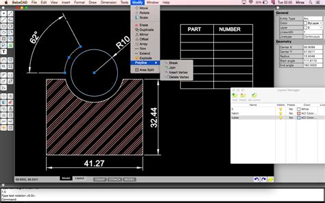 pattern maker for mac os x babacad free cad software for mac os