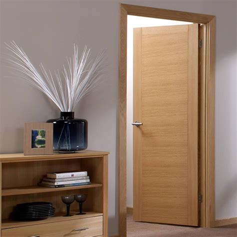 aragon flush oak veneer door is pre finished flush oak doors