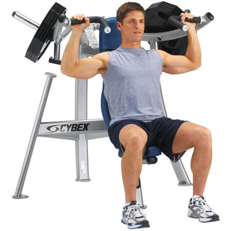 shoulders bench press cybex converging shoulder press gym source
