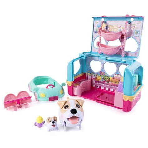 puppies playset spin master puppies vacation cer playset