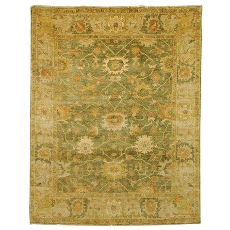 Safavieh Oushak - safavieh oushak green beige 8 ft x 10 ft area rug