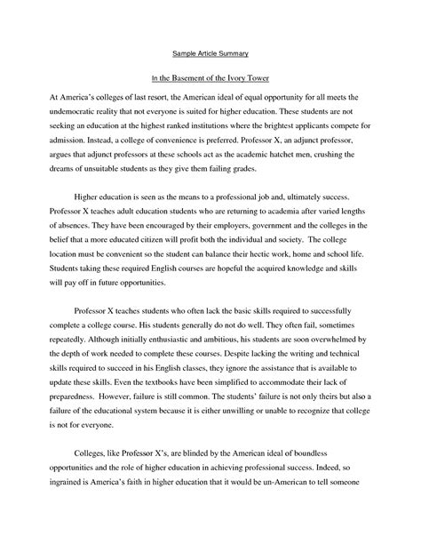 article 1 section 9 summary free sle sle summary essay resume daily