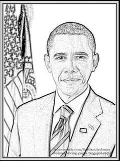Barack Obama Coloring Pages Printable Coloring Pages Obama Coloring Pages