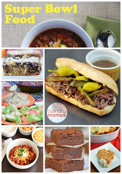 super bowl sunday food culinary mamas