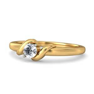 Home gt engagement rings gt solitaire round diamond engagement ring for