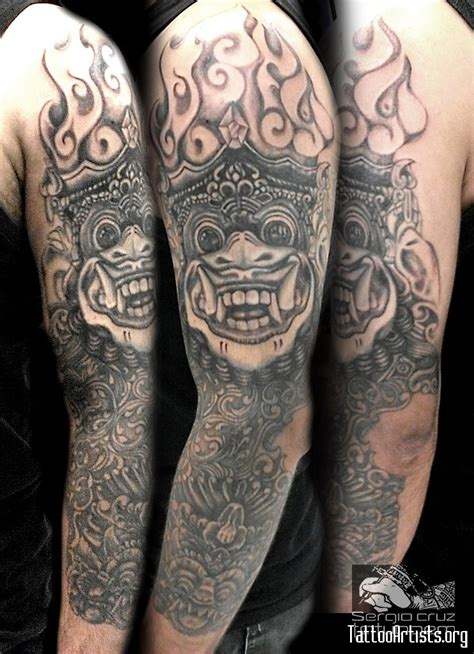 tattoo laser bali bali tattoo studio barong designs by tribal tattoo