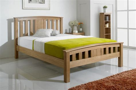 Royal Bed Frame Royal Ascot Solid Oak Bed Frame 4ft6 The Oak Bed Store