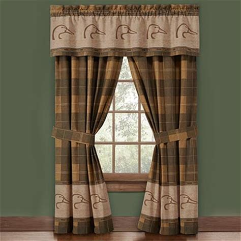 ducks unlimited shower curtain ducks unlimited valance and drapes