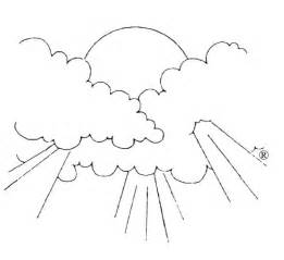 free coloring pages sky clouds coloring rainbow clouds general style free