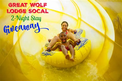win a two night stay at great wolf lodge in our family five things we are excited about great wolf lodge socal