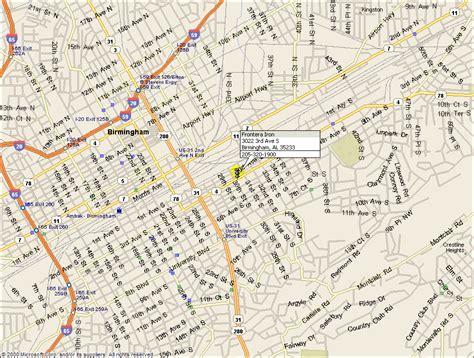 birmingham usa map city map of birmingham al browse info on city map of