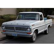 1970 Ford F100  Information And Photos MOMENTcar