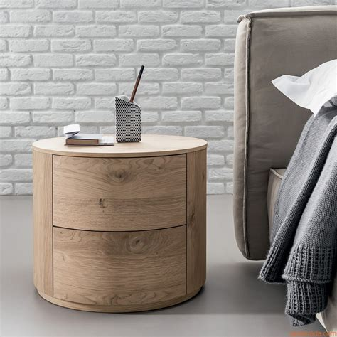 christal n stand drawers and woods - Runder Nachttisch