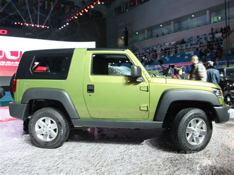 China Jeep The Jeep Wrangler Beijing Auto S Bj40 Launched