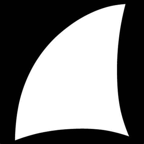 shark fin template shark fin clipart clipground