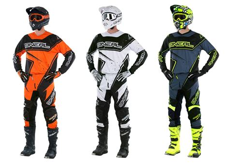 motocross combo gear o neal motocross jersey pant and gloves sets