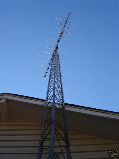 antenna tower  ft cb tv ham radio located  georgia