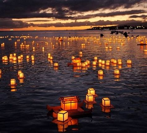 loy lake lights city festival of lights lantern floating hawaii