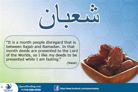 fasting month fasting in the month of shaban and its importance in islam