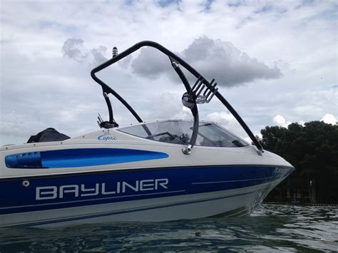 wakeboard boat with outboard big air ice tower wakeboarding boat towers big air