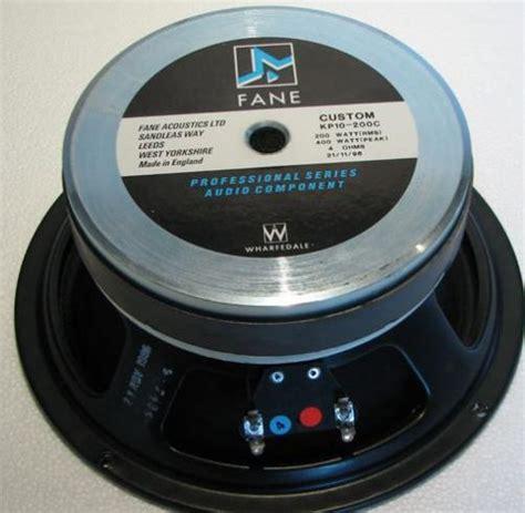 Speaker Fane 10 eminence vs fane design speakerplans forums page 2