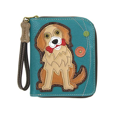 golden retriever character chala golden retriever wallet 25839gr