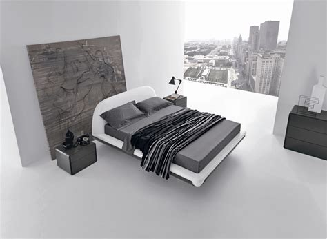 minimalistic bed minimalist bed for modern bedroom fusion by presotto