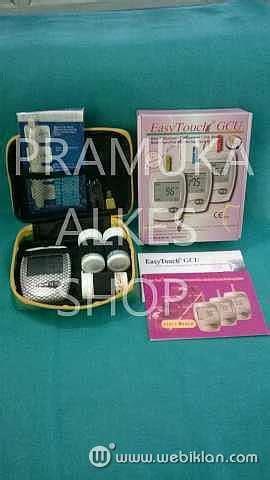 Alat Tes Gula Darah Merk One Touch alat cek gula darah kolesterol asam urat easy touch