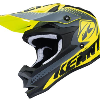 Gm Supercross Tracker Yellowfluo tenue motocross enfant kenny track lime 2018