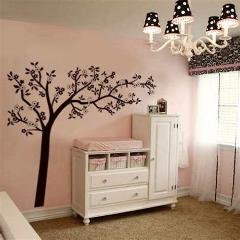 Picture Wall Stickers autocollant mural flore arbre amp oiseaux