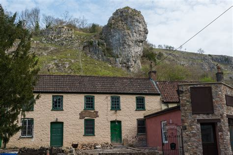 Cottages In Cheddar Gorge by Historic Walk Around Historic Cheddar 23rd July