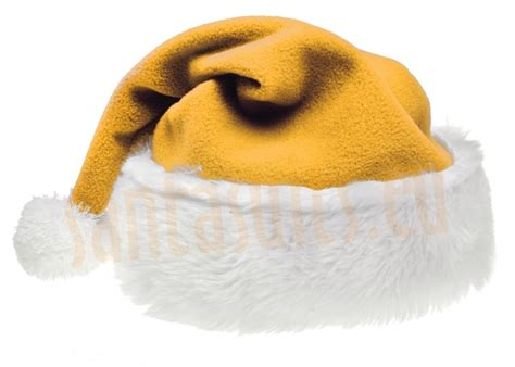 yellow santa suit jacket trousers and hat santa suits