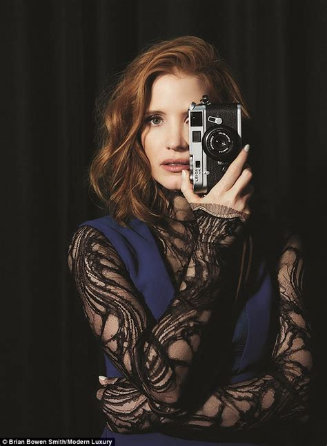 Another Photo Shoot In Ny by Chastain Looks Glamorous In Photo Shoot