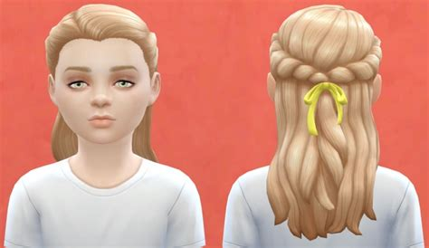 sims 4 child hair cc sims 4 hair for the kids hairstylegalleries com