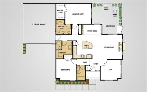epcon communities floor plans epcon communities floor plans models courtyards at pepper