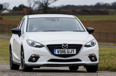 mazda 3 hatchback revealed autocar mazda 3 sport black revealed autocar