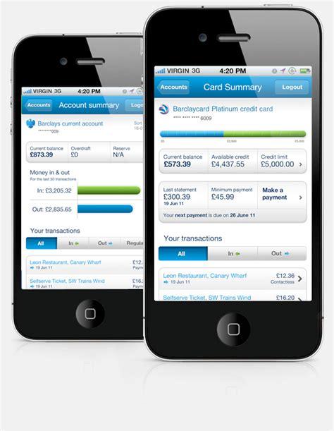 barclays mobile banking barclays mobile banking app on behance