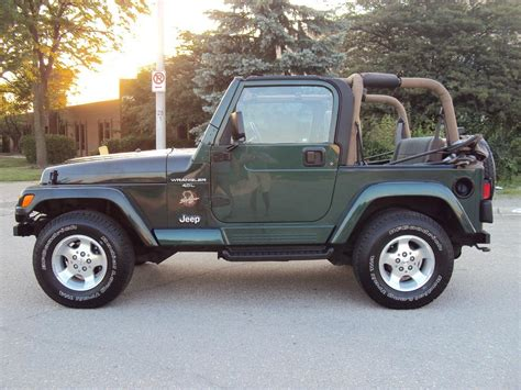2000 Jeep Wrangler Green Image Galleries Imagekb