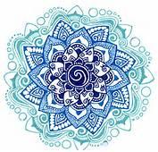 Blue Shades Mandala  Flickr Photo Sharing